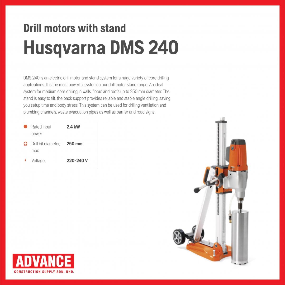 HUSQVARNA DMS240